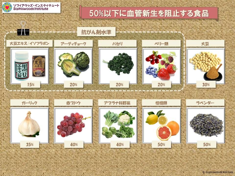 抗血管新生食品