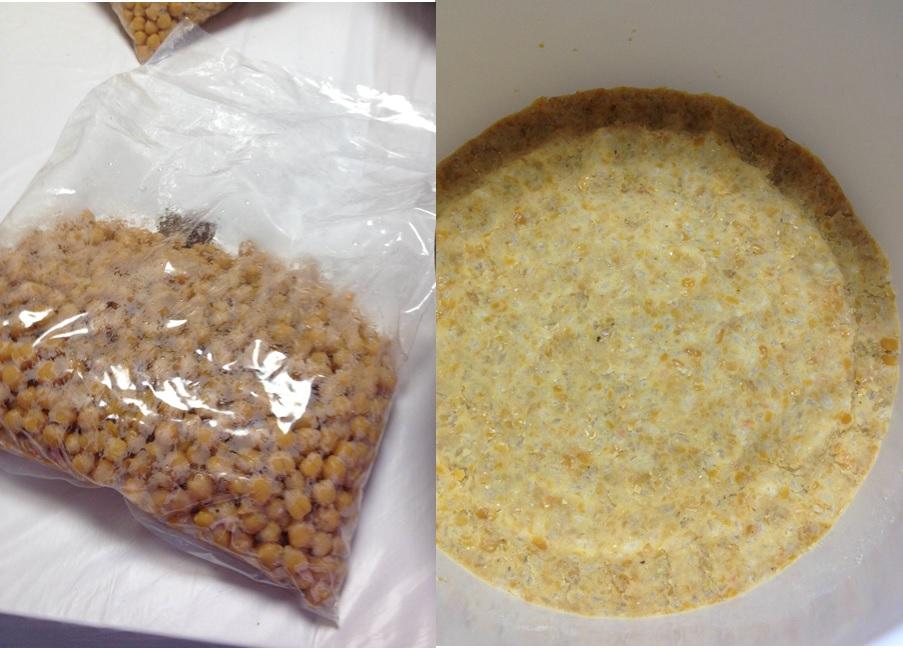 ヒヨコ豆米麹手前味噌